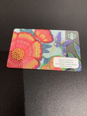 New 2019 Starbucks Card From Mexico 🇲🇽