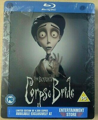 Corpse Bride - Limited Edition Steelbook -  Blu-Ray - New/Sealed
