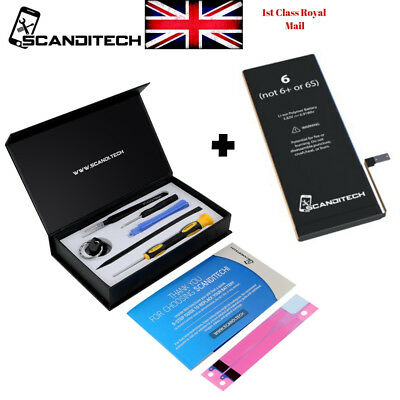 iPhone 6 Battery Replacement Kit Li-on Genuine oem 1810 mAH + Tools UK Seller