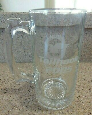 Commemorative Tailhook 2005 Glass Stein Pratt & Whitney