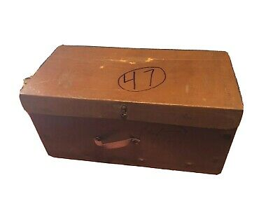 Vintage Hoover Vacuum Cleaner Box - Model 61 - BOX ONLY - Very cool!