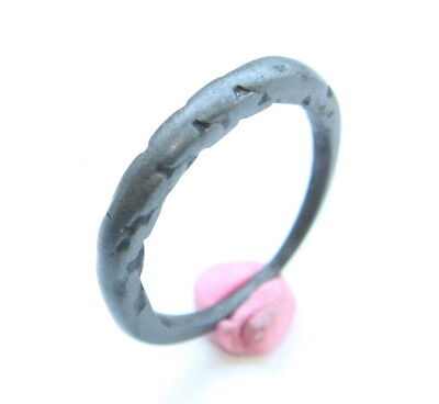 Ancient Twisted Bronze Finger Ring (MAY87)