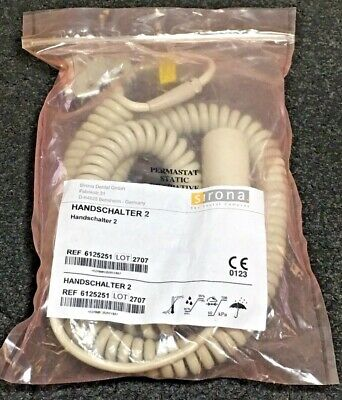 Sirona Handschalter 2 Dental Replacement X-Ray Exposure Button Ref: 6125251