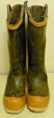 Ranger FireWalker Firefighter Turnout Gear Rubber Boots Steel Toe Size 5 R262