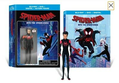 Spider Man: Into The Spider-Verse (Wal-Mart Limited Edition Blu-ray Exclusive.)