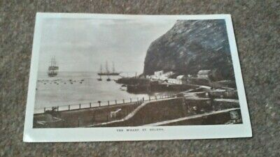 The Wharf St Helena Postcard Unposted
