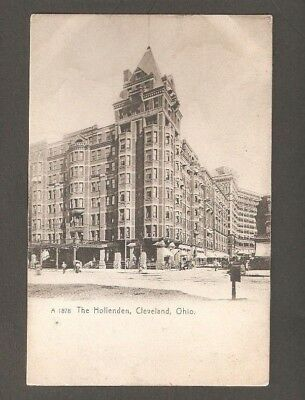 Vtg Postcard The Hollenden Cleveland Ohio OH O Undivided back early