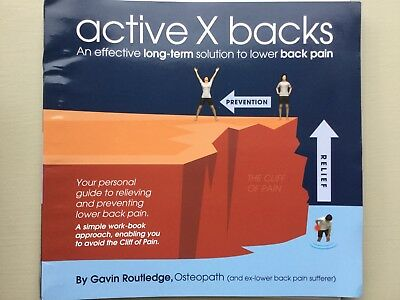 Active X Backs (Routledge) Effective Long-Term Solution To Lower Back Pain -Good