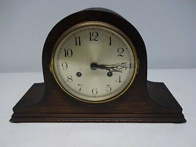 Napoleon Hat Style - Made In Baden (Germany) 8 Day Mantel Clock. Working
