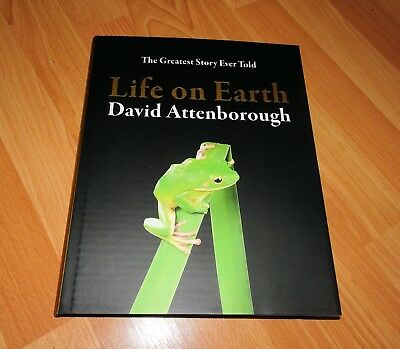 David Attenborough - Life On Earth - Signed Dated Anniversary Edition Hardback