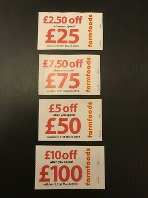 £25 worth of Farmfood Vouchers
