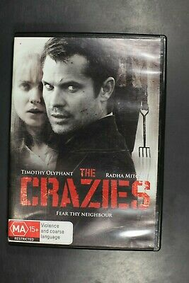 The Crazies - Timothy Olyphant Radha Mitchell, Horror -  Pre-Owned (R4) (D372)