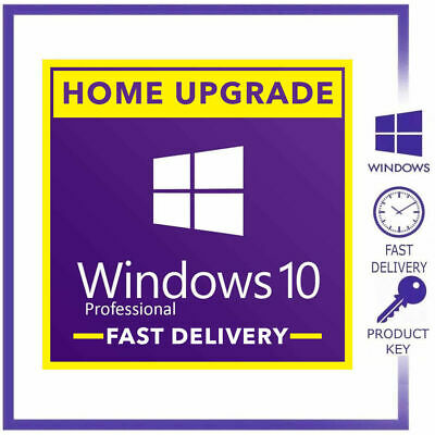 WINDOWS 10 PROFESSIONAL PRO 32|64 BIT GENUINE ACTIVATION KEY LICENSE INSTANT dlv