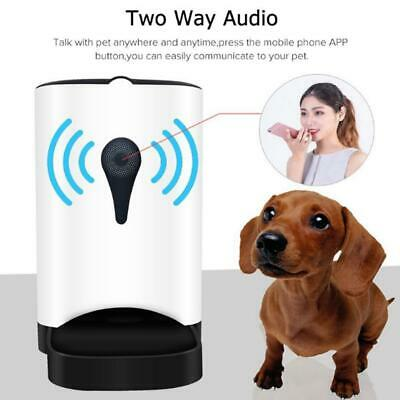 Pet Dogs Cats Automatic Feeder with WiFi Remote Control Auto Smart Dispenser