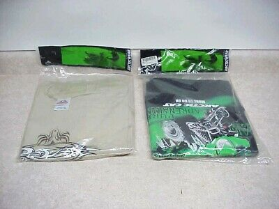 ARCTIC CAT MEN'S 3XL Shirts New in Package Pure Addrenaline ATV  + DVR Tattoo