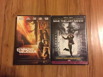 Sympathy For Delicious and Save the Last Dance DVD Lot