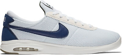 the latest f3405 c1313 Nike SB Air Max Bruin Vapor Sneakers White Blue Size 9 New