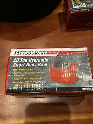 Pittsburgh 20 AND 10 Ton Hydraulic Short Body Rams! You get both!! Automotive
