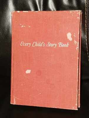 1959 Every Child's Story Book  Hardcover Children's book, vintage antique
