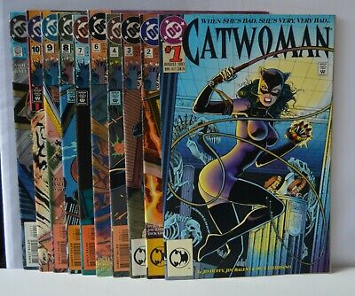 Catwoman  #s; 1,2,3,4,6,7,8,9,10,0  (DC ,1993)  Lot of 10 books