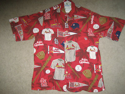 71541c9e St Louis Cardinals Hawaiian Shirt Classic