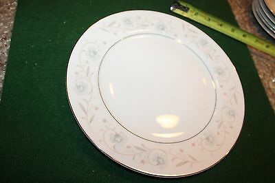 1 Fine China of Japan English Garden Platinum pattern 1221 Dinner plate