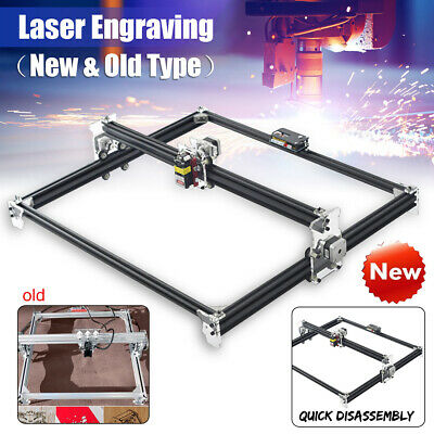 500-5500MW 2 Axis Laser Engraving Cutting Engraver CNC Carver Printer Machine