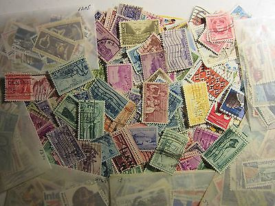 "Us Antique Stamp Lot All Different Used Well Mixed 750 Different ""Free Shipping"""