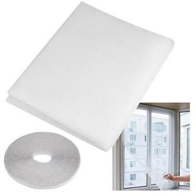 Practical Insect Bug Mosquito Home Window Door Net Mesh Screen Sticky Tape KV