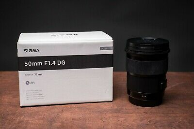 Sigma 50mm F/1.4 ART Lens for Canon  - Excellent Condition