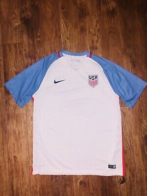 04530bc78 2016 USA Mens National Team USMNT Copa America Soccer On-Field Match Away  Jersey Soccer-National Teams