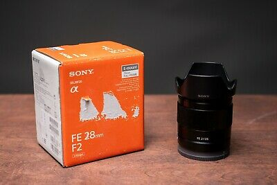 Sony SEL 28mm f/2 FE Lens - Excellent Condition
