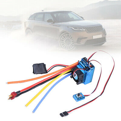 4.8-8.4V 320A Two Way Brushed ESC Speed Controller for 1/10 1/8 RC Car Boat