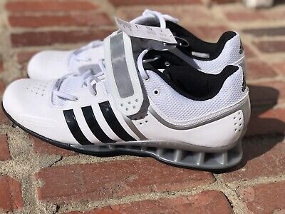 6defeaf69ca0 Adidas AdiPower Weightlifting Trainer Shoes White M25733 Mens Size 11.5