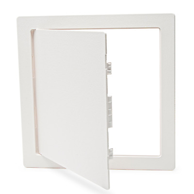Morvat 12x12 Plastic Access Panel Door, White, For Drywall, Wall, RV, Electrical