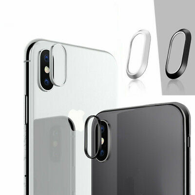 Metal Rear Camera Lens Ring Circle Protective Protector Cover Lot For iPhone X