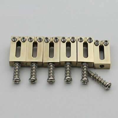 Brass Bridge Saddles 10.5MM For Stratocaster Tremolo Bridges