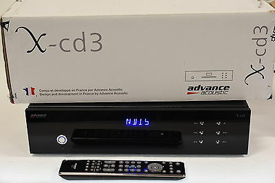 Advance Acoustic X-CD3 CD Player -  Excellent Condition - With Original Box