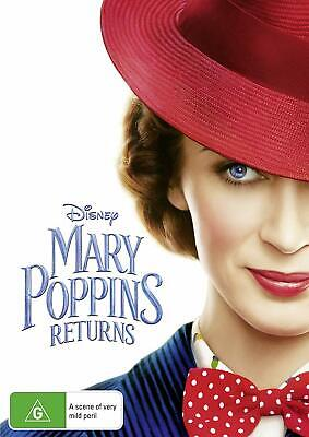 MARY POPPINS RETURNS (2019): Comedy, Family, Fantasy, Sequel - NEW Aus Rg4 DVD