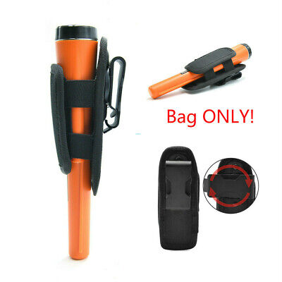 Pro Pinpointer Metal Detector Cover Pouch Flashlight Holster Carrying Waist Bag