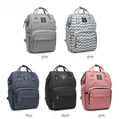 Baby Diaper Bag Large Capacity Waterproof Mummy Maternity Nappy Travel Backpack
