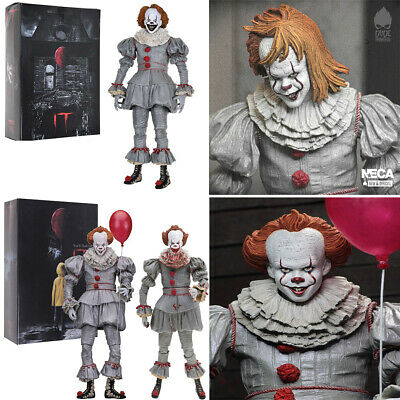 IT Ultimate Pennywise Clown 7in Scale Action Figure Toys Gift Collection Juguete
