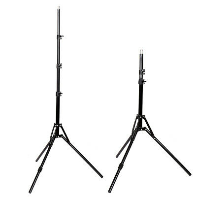 2x Professional Photo Photography Studio 2M Light Stand Tripod for Lighting ED