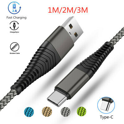 Fast Charging data Sync USB Type-C Cable For Samsung A7 A8 S8 S9+ Note8 S10 S10e