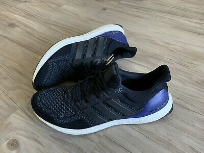 a94e277ea2b Adidas Ultra Boost 1.0 OG Core Black Purple Gold Tip Mens 11.5 B27171 (2014)