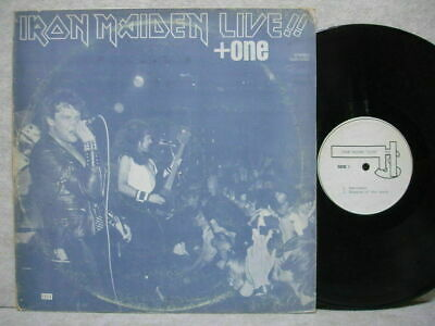 IRON MAIDEN LIVE!! + ONE GRAY Cover & DIFF Label LP