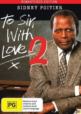 To Sir With Love 2 (DVD, 2018) New And Sealed REMASTERED EDITION