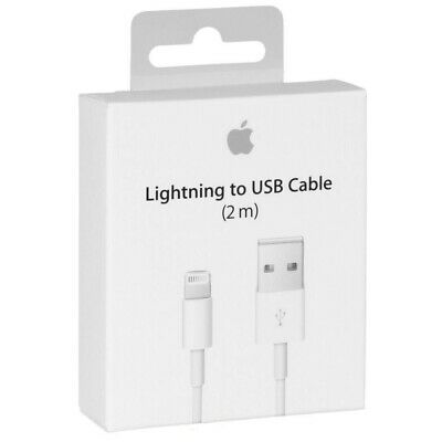 Carica Batteria Caricatore Cavo Lightning 2 M Apple Originale Iphone 6 7 8 X