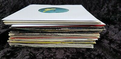 job lot of 30 1980's POP SINGLES 7 inch vinyl MANY HITS VG+ to NM artists listed