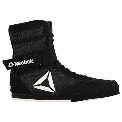 Reebok Boxing Boots Mens Gents Hi Laces Fastened Ventilated Ankle Strap Mesh